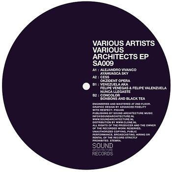 Cover art - Various Artists: Various Architects EP