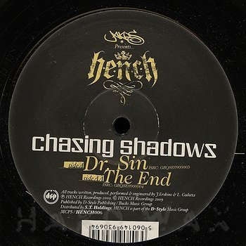 Cover art - Chasing Shadows: Dr. Sin