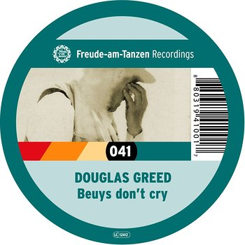 Cover art - Douglas Greed: Beuys Don't Cry