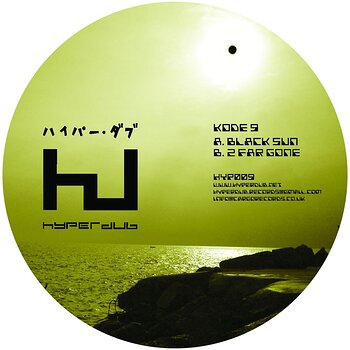 Cover art - Kode 9: Black Sun