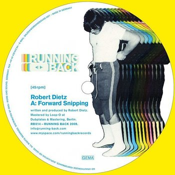 Cover art - Robert Dietz: Forward Snipping