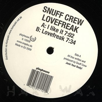 Cover art - Snuff Crew: I Like It