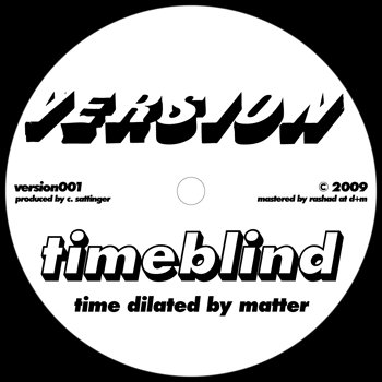 Cover art - Timeblind: Time Dilated By Matter