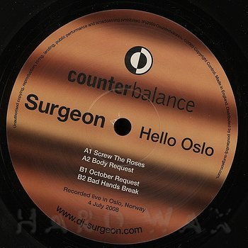Cover art - Surgeon: Hello Oslo