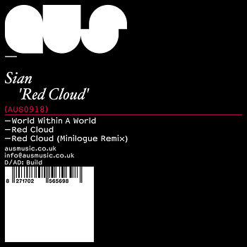 Cover art - Sian: Red Cloud EP