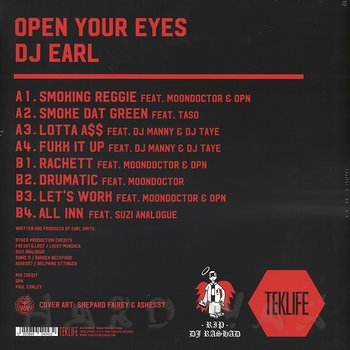 Cover art - DJ Earl: Open Your Eyes
