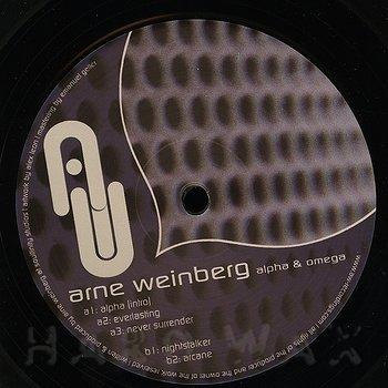 Cover art - Arne Weinberg: Alpha & Omega