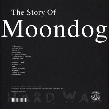 Cover art - Moondog: The Story Of Moondog