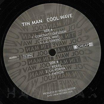 Cover art - Tin Man: Cool Wave