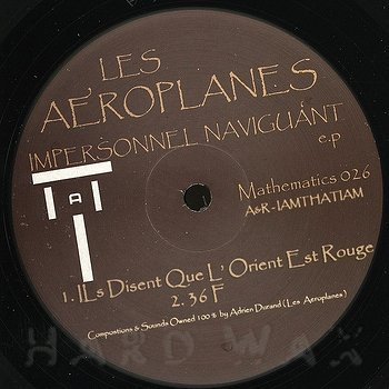 Cover art - Les Aeroplanes: Impersonnel Naviguant