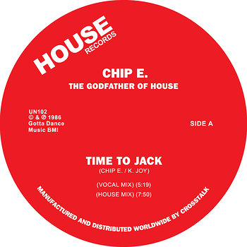 Cover art - Chip E: Time To Jack