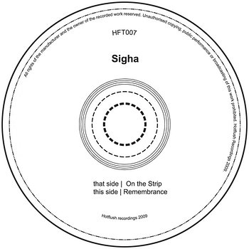 Cover art - Sigha: On The Strip