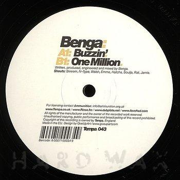 Cover art - Benga: Buzzin