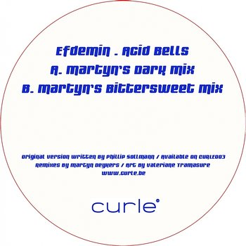 Cover art - Efdemin: Acid Bells - Martyn Remixes
