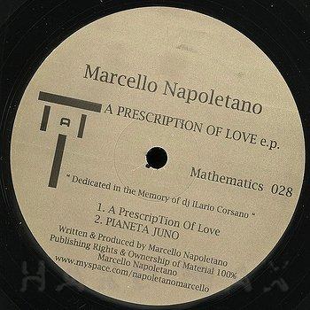 Cover art - Marcello Napoletano: A Prescription Of Love E.P.