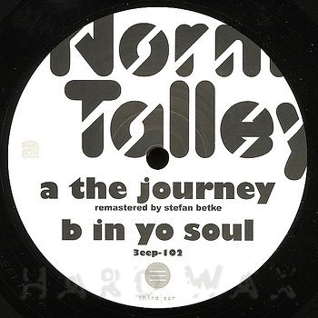 Cover art - Norm Talley: The Journey