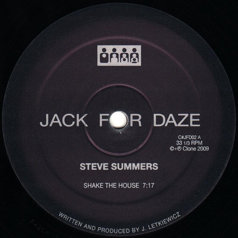 Cover art - Steve Summers: Shake The House