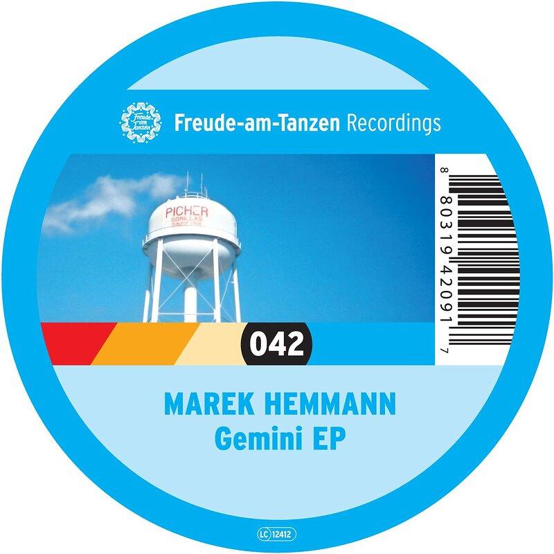 Cover art - Marek Hemmann: Gemini EP