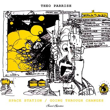 Cover art - Theo Parrish: Space Station