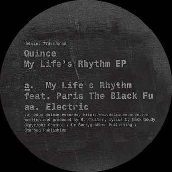 Cover art - Quince: My Life's Rhythm EP