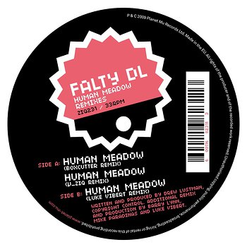 Cover art - Falty DL: Human Meadow Remixes
