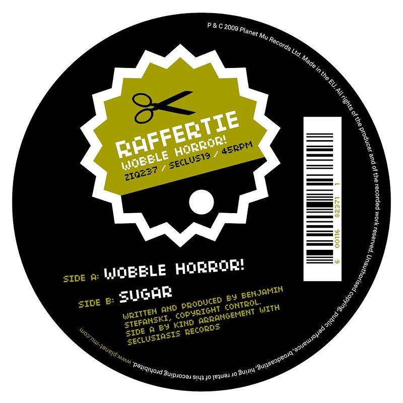 Cover art - Raffertie: Wobble Horror!