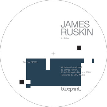 Cover art - James Ruskin: Sabre
