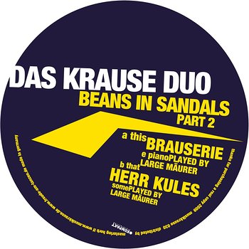Cover art - Das Krause Duo: Beans In Sandals Part 2