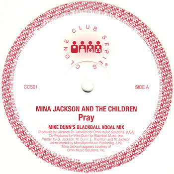 Cover art - Mina Jackson And The Children: Pray