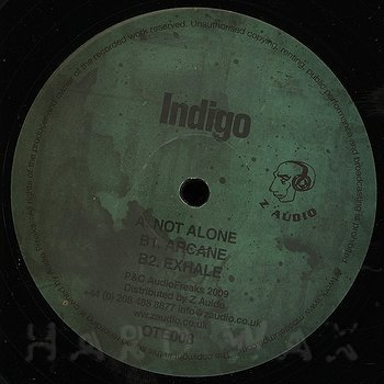 Cover art - Indigo: Not Alone