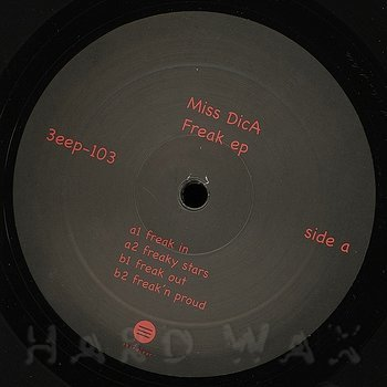 Cover art - Miss Dica: Freak EP