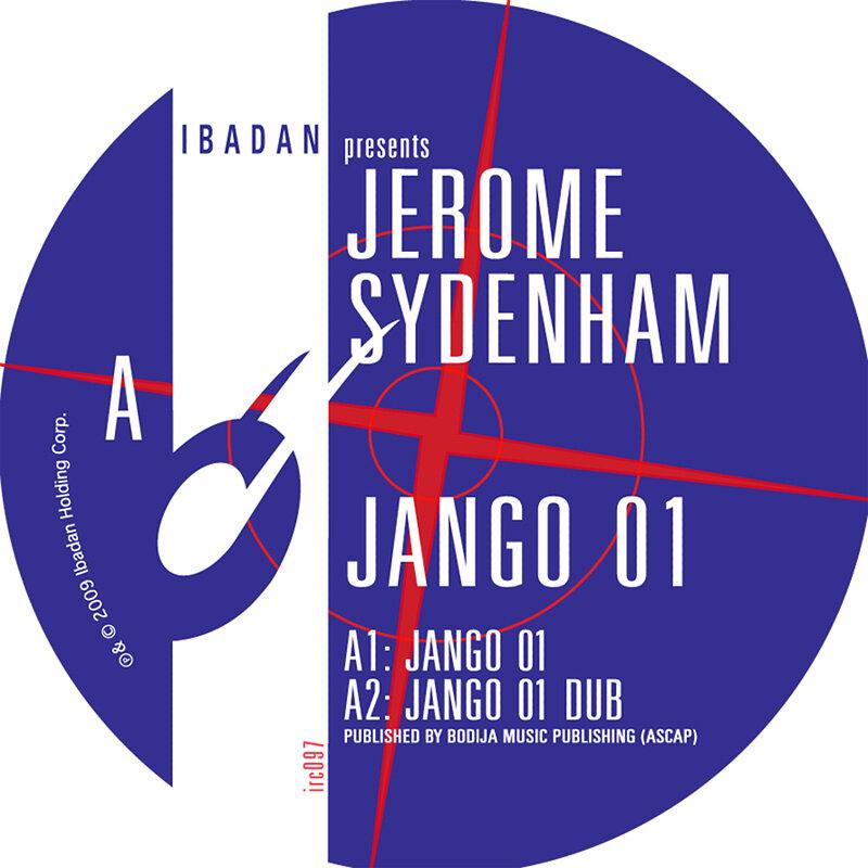Cover art - Jerome Sydenham: Jango 01