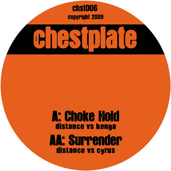 Cover art - Distance vs Benga: Choke Hold