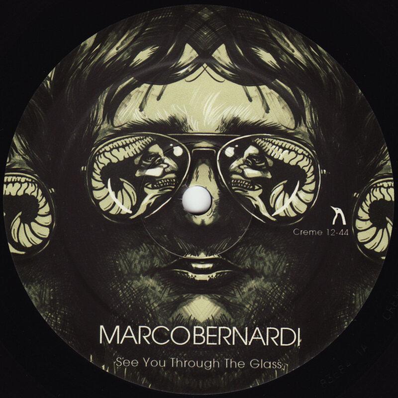 Cover art - Marco Bernardi: See You Through The Glass