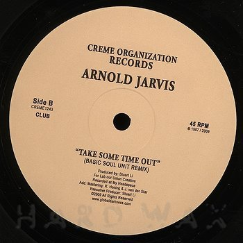 Cover art - Arnold Jarvis: Take Some Time Out