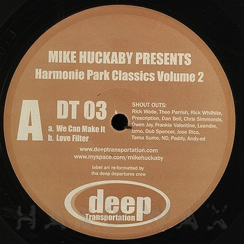 Cover art - Mike Huckaby: Harmonie Park Classics Vol. 2