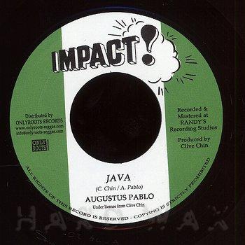 Cover art - Augustus Pablo: Java