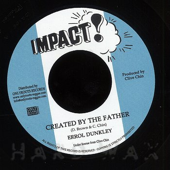Cover art - Errol Dunkley: Created By The Father