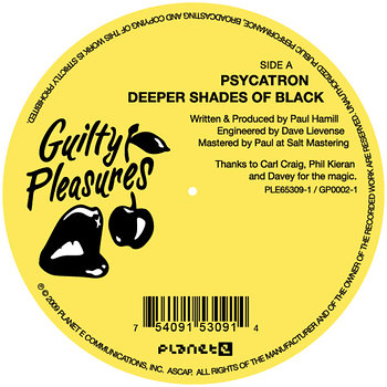 Cover art - Psycatron: Deeper Shades Of Black