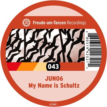 Cover art - Juno6: My Name Is Schultz