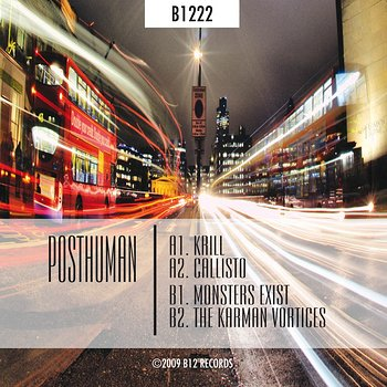 Cover art - Posthuman: Monsters And Vortices EP