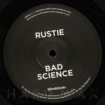 Cover art - Rustie: Bad Science
