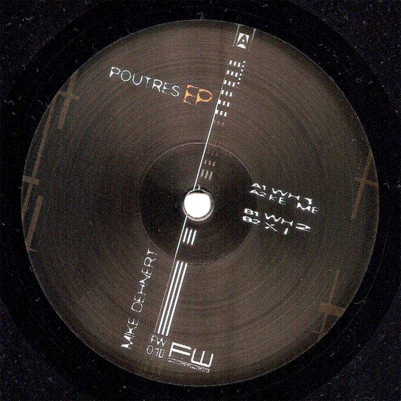Cover art - Mike Dehnert: Poutres EP