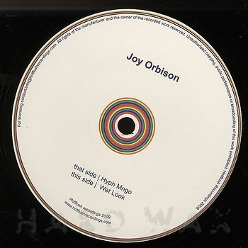 Cover art - Joy Orbison: Hyph Mngo