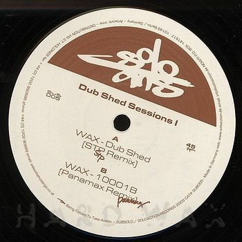 Cover art - Wax: Dub Shed Sessions 1