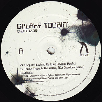 Cover art - Galaxy Toobin': Thing Are Looking Up