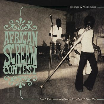 Cover art - Various Artists: African Scream Contest
