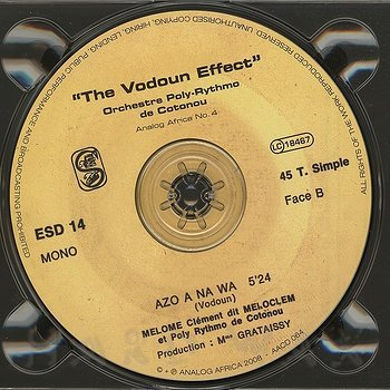 Cover art - Orchestre Poly-Rythmo De Cotonou: Volume One - The Vodoun Effect