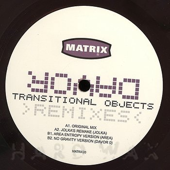 Cover art - Davor: Transitional Objects Remixes