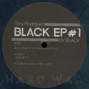 Cover art - Tony Rodriguez: Black EP #1